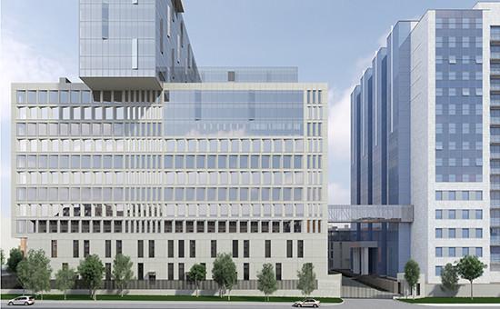 Проект нового здания Следственного комитета