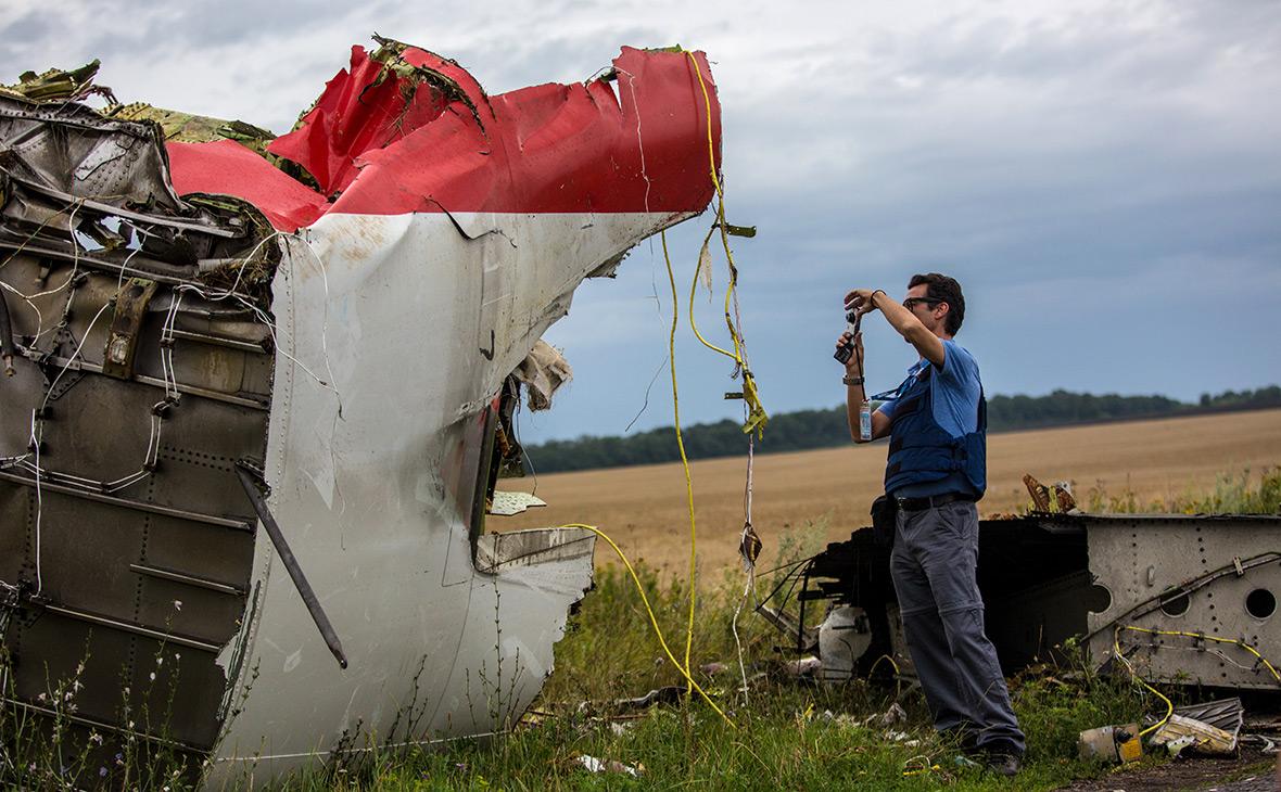 Снова о катастрофе лайнера MH17 на Украине