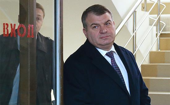 Бывший министр обороны РФ Анатолий Сердюков