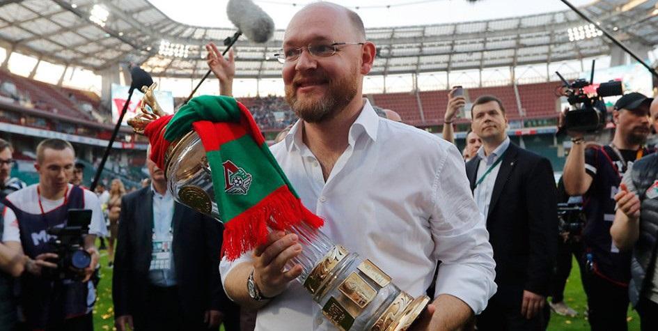 Бывший президент московского «Локомотива» Илья Геркус