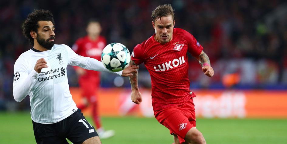 Защитник «Спартака» Ещенко выбыл из строя из-за травмы