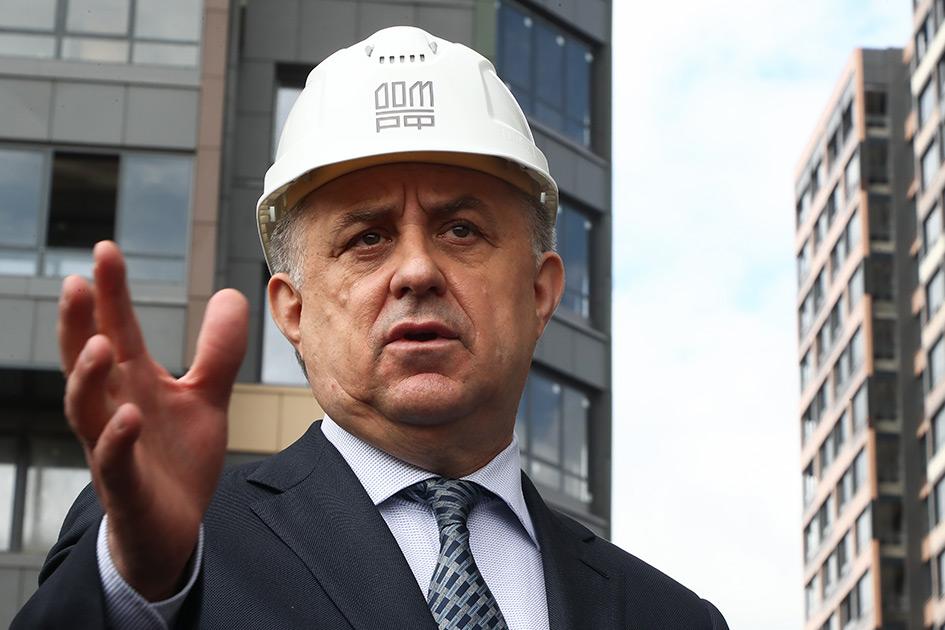 Глава института развития «Дом.РФ» Виталий Мутко