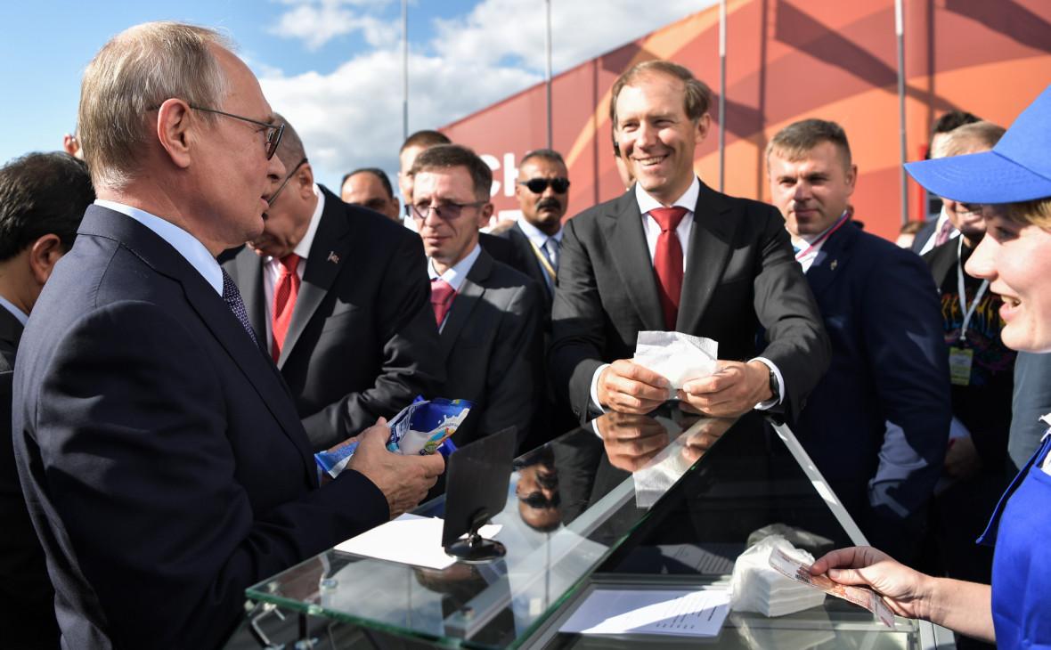 Та самая продавщица мороженого объяснила вторую встречу с Путиным на МАКС