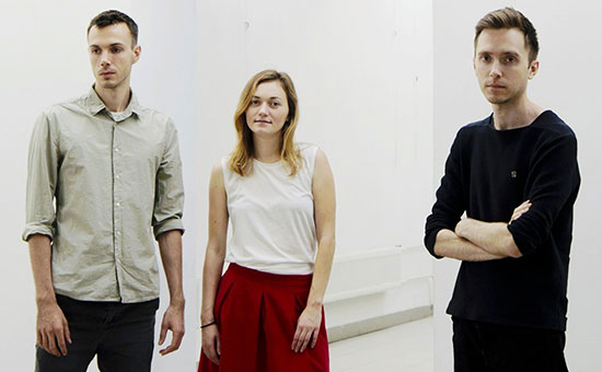 Создатели Readymag Кирилл Данченко, Диана Новичихина, Антон Герасименко (слева направо)