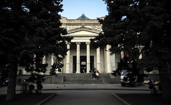 Здание Государственного музея изобразительных искусств имени А.С. Пушкина