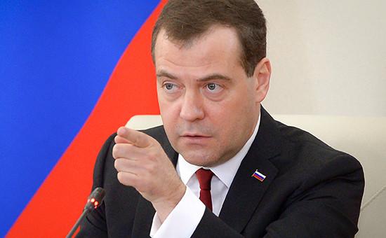 Премьер России Дмитрий Медведев