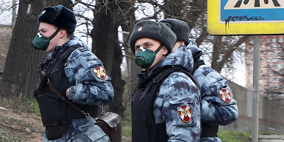 Росгвардия начала патрулировать коттеджные и дачные поселки в Подмосковье