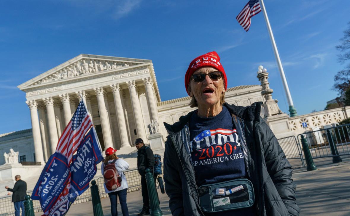 Верховный суд США отклонил иск Техаса о пересмотре итогов выборов