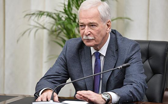 Бывший спикер нижней палаты парламента Борис Грызлов
