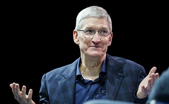 Главный исполнительный директор Apple Inc. Тим Кук