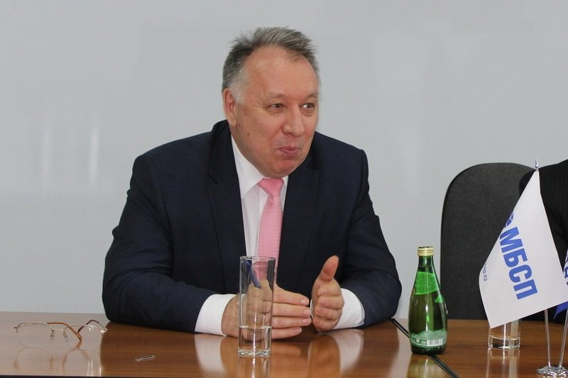 Президент Международного банка Санкт-Петербурга Сергей Бажанов