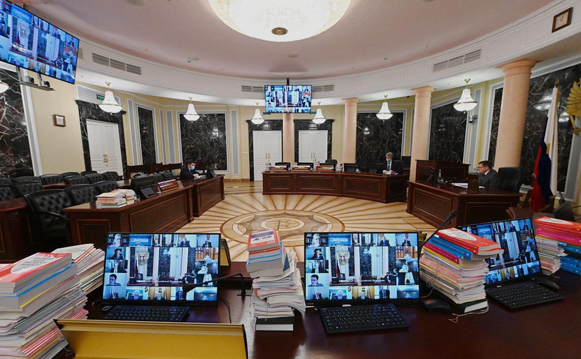 Заседание Пленума Верховного Суда Российской Федерации