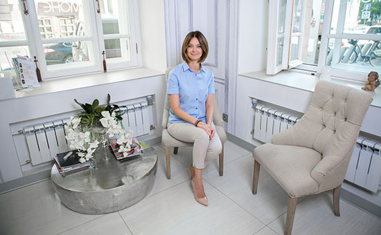 Генеральный директор салонов «Моне»  и «Точка красоты»  Елена Шпаченко