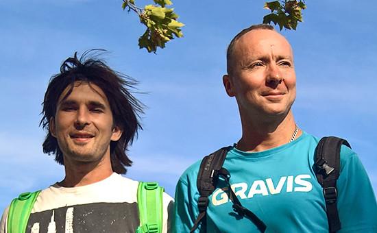 Предприниматели Дмитрий Серов (слева) иКонстантин Кулешов