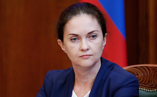 Глава управления внутренней политики Кремля Татьяна Воронова