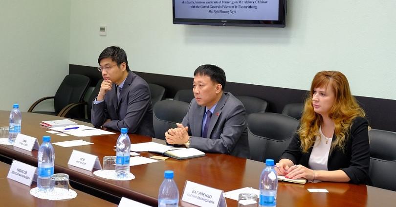 Товарооборот между Прикамьем и Вьетнамом в 2018 году достиг $58 млн
