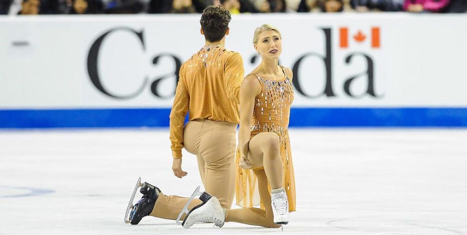 Канадские фигуристы Пайпер Гиллес и Поль Пуарье планировали выступить на турниреSkate Canada