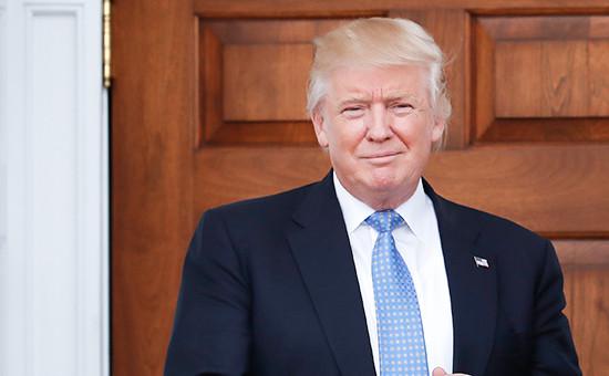Избранный президентСША Дональд Трамп