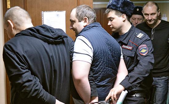 Участники крупнейшей преступной группировки пообналичиванию денег вПресненском суде