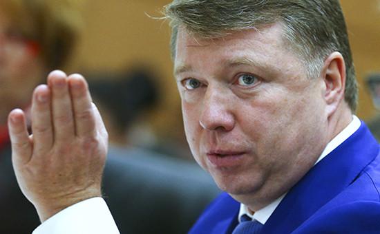 Глава департамента СМИ и рекламы Москвы Владимир Черников