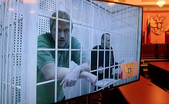 На заседании Верховного судаРФ, гдерассматривается жалоба наприговор поделу граждан Украины Николая Карпюка иСтанислава Клыха