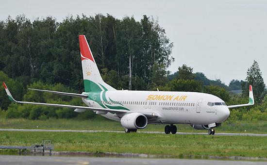 Самолет президента Республики Таджикистан Эмомали Рахмона