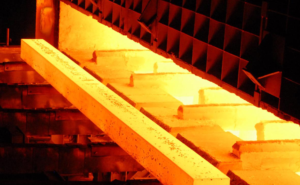 Производство рельсов. Челябинский металлургический комбинат