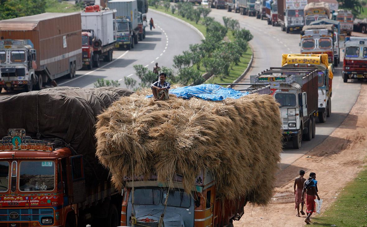 Автомагистраль в Западной Бенгалии