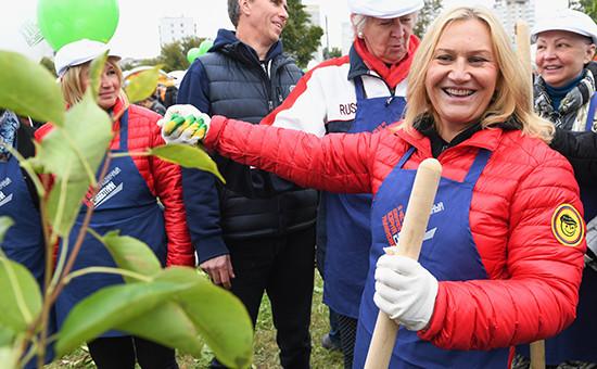 Супруга бывшего мэра Москвы Юрия Лужкова, предприниматель Елена Батурина