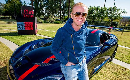 Ведущий Top Gear Крис Эванс