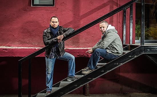 Валерий Мешков и Сергей Андреев