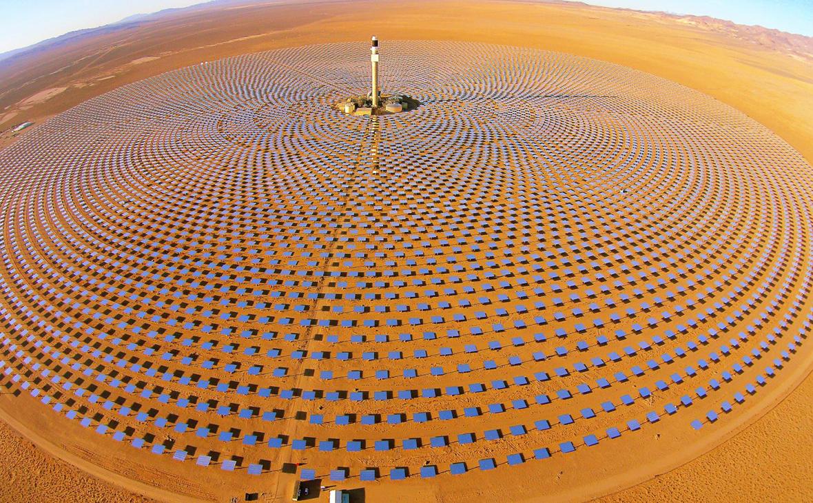 Солнечная электростанция Crescent Dunes