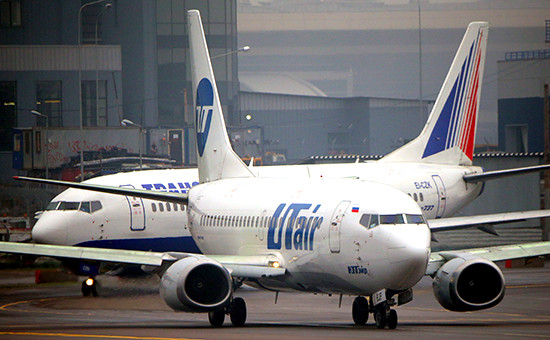 Самолеты авиакомпании UTair