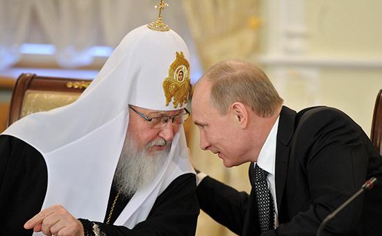 Патриарх Кирилл иВладимирПутин