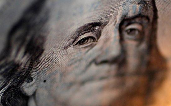 Портрет Бенджамина Франклина на стодолларовой купюре США
