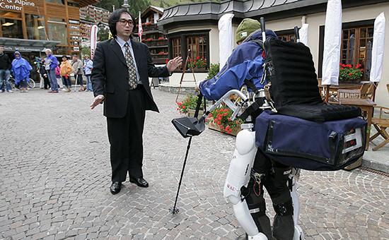 Японский профессор Йосиюки Санкаи