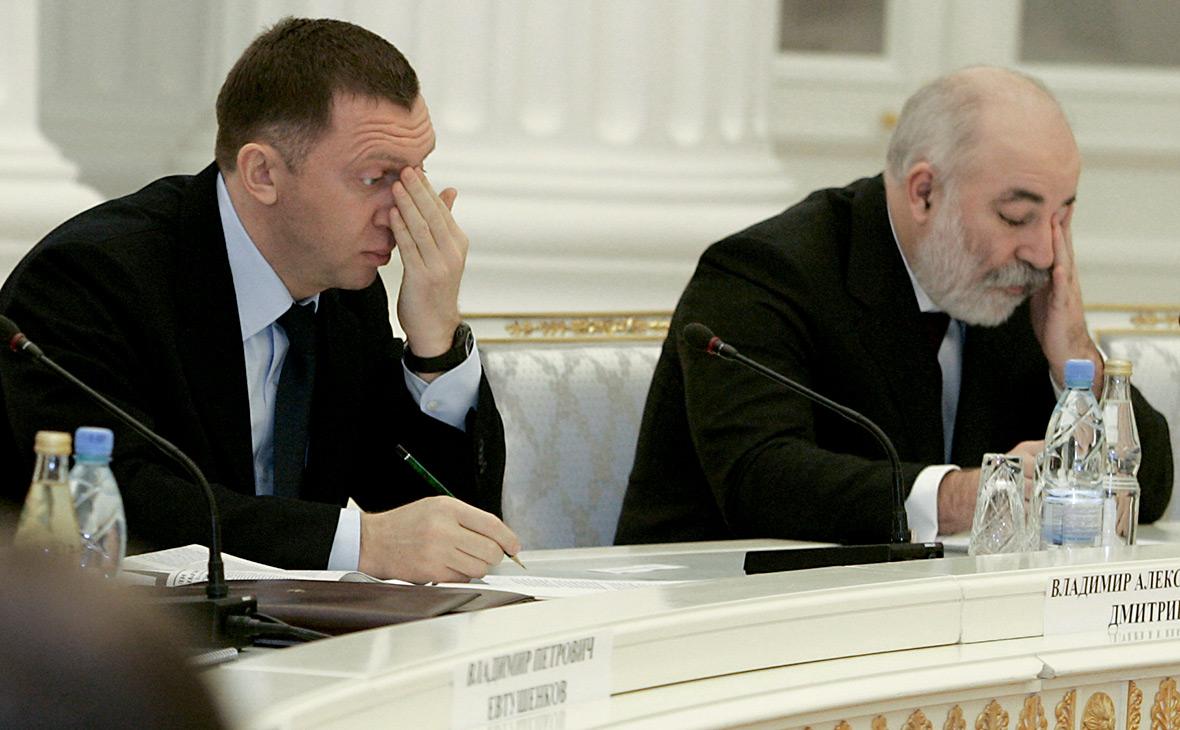 Олег Дерипаска(слева) и Виктор Вексельберг