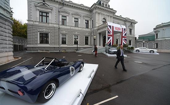 Резиденция посла Великобритании в России Тима Барроу на Софийской набережной Москвы