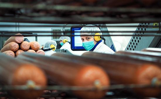 Изготовление колбас на мясоперерабатывающем заводе