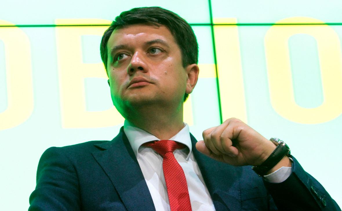 Будущий спикер Рады счел невозможным вернуть мир в Донбасс законами