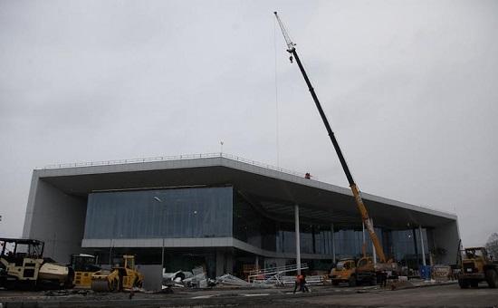 "Строящийся терминал нижегородского аэропорта ""Стригино"""