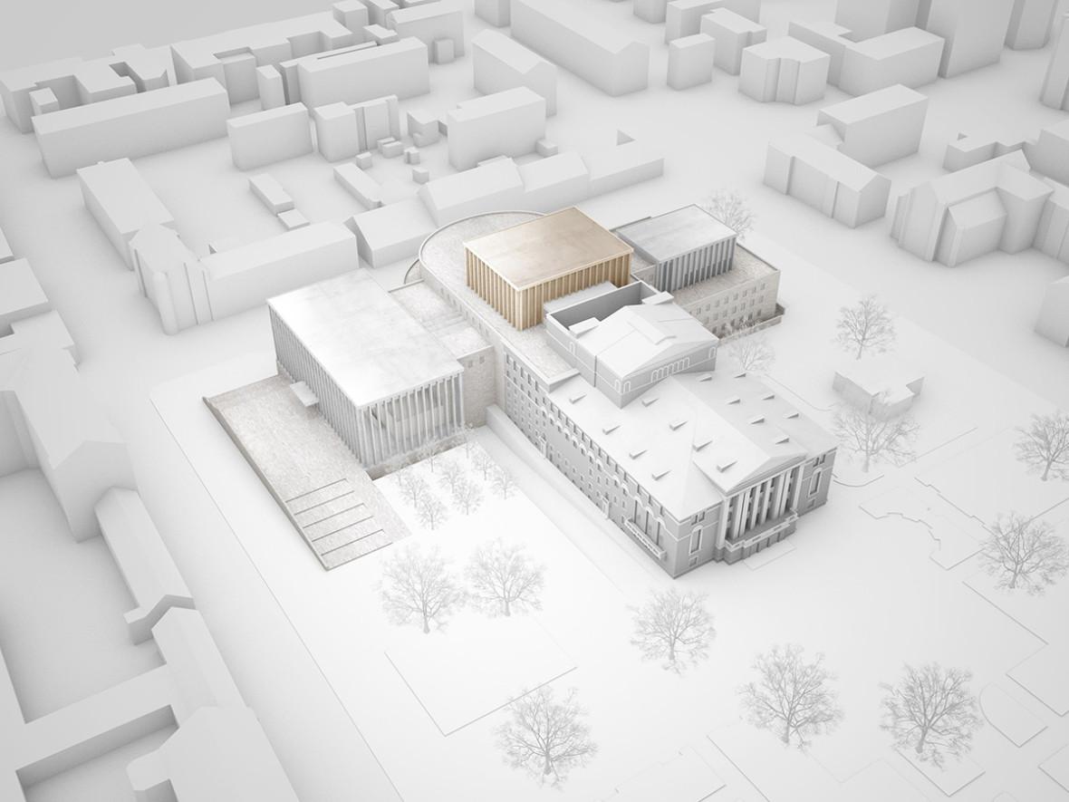 Архитекторы выберут участок для строительства театра