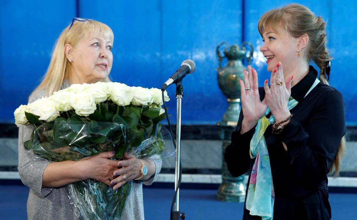 Татьяна Гатова и Виктория Лапина.