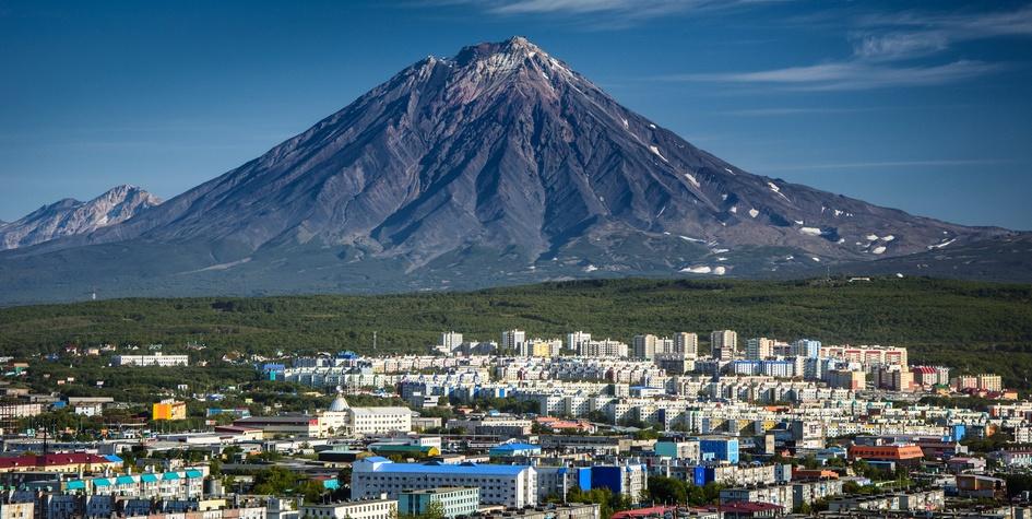 Петропавловск-Камчатский, столица Камчатского края