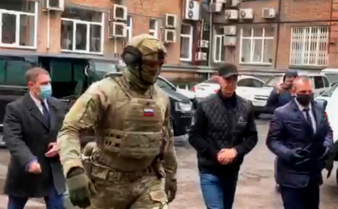 Задержание Анатолия Быкова