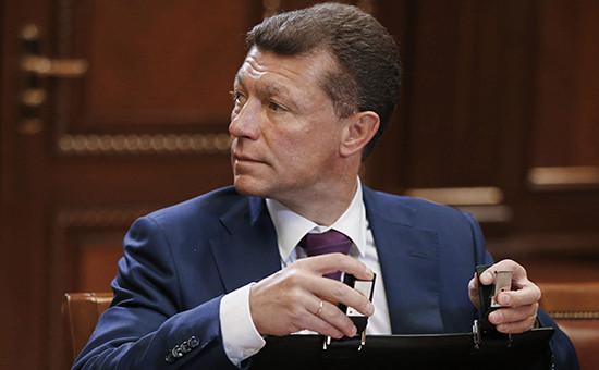 Глава Министерства труда и социальной защиты России Максим Топилин