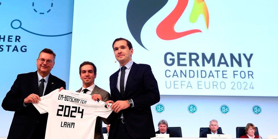 Германия подала заявку на проведение Евро-2024