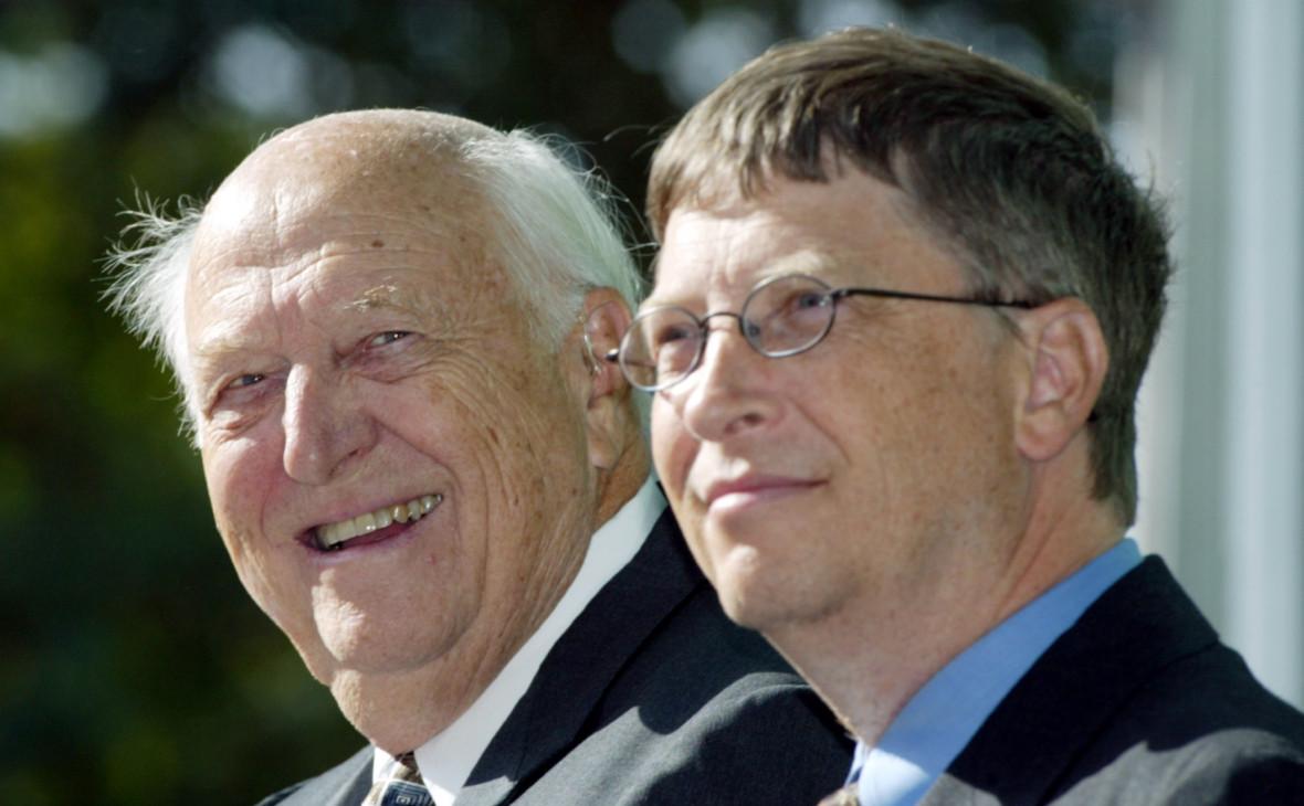 Уильям Гейтс (слева) и Билл Гейтс