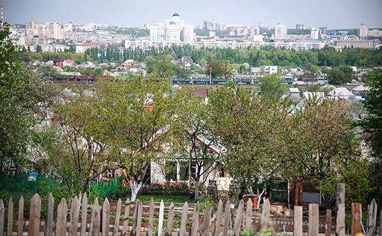 Вид на Белгород, занимающий второе место в рейтинге самых быстро растущих городов России