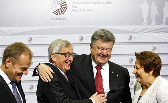 Президент Украины Петр Порошенко на саммите участников проекта Европейского союза «Восточное партнерство»